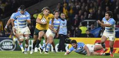 COMETH THE HOUR. Drew Mitchell's magnificent solo run will live long in the memory Rugby World Cup, Live Long, Memories, Running, Sports, Highlights, Australia, Watch, Argentina