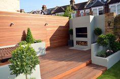 modern garden design putney fulham wimbledon london