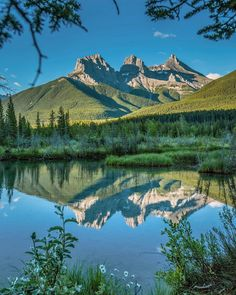 """Jeff Jett on LinkedIn: """"The Three Sisters in Canmore Alberta, Canada"""" Beautiful World, Beautiful Places, Beautiful Pictures, All Nature, Amazing Nature, Landscape Photography, Nature Photography, Seen, Nature Pictures"""