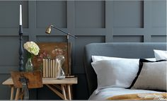 "Gebruikte ""GREY"" kleuren: Scree 227 & Shallows 223 van Little Greene"