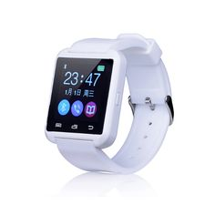 "U8 Smart Wrist Watch Bluetooth 1.48"" Touch Screen Phone Mate for Smartphone (White). Large-screen design with good screen touch. Remote control camera, selfie and record. Built-in pedometer function, you can record all day's action data. It can accurately analyze body fat, and to provide detailed data for those friends like fitness. Built-in altitude meter, it is a good assistant for climbing or traveling, you can always measure the current altitude."