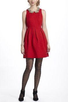 Nipped Brocade Dress - Anthropologie.com