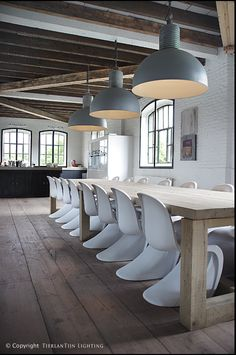 ~Gorgeous Industrial Dining