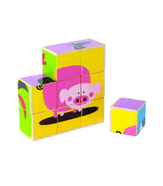Farm Animals Block Puzzle From Hape from The Wooden Toybox