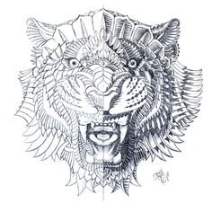 Eye of the Tiger by BioWorkZ , via Behance