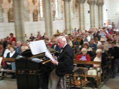 Louis-Jean Guillou en concert à Pont-Scorff
