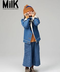 So, so happy to be on the @milkorea cover with our woods beanie #bobolikesyou #theunknownmountainjourney #aw15#bobochoses