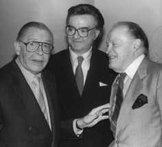 Milton Berle, Steve Allen & Bob Hope