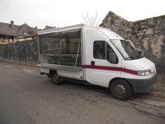 Camion magasin Peugeot boxer réfrigéré 1995