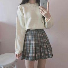 I Really like korean fashion outfits - I Really like korean fashion outfits The Effective Pictures We Offer You Ab - # Outfits coreanos Ulzzang Fashion, Kpop Fashion, Cute Fashion, Fashion Outfits, Fashion Ideas, Kawaii Fashion, Fashion Styles, Fashion Women, Korea Fashion