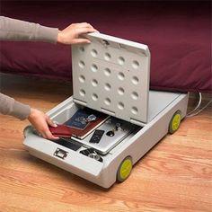 Lock & Roll Portable Personal Safe Under Bed Money Keys Jewlery Gun Home Dorm