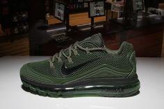 Nike Air Max 2018 Elite KPU Black Olive Green Mens Running Shoes e6f08f4a4