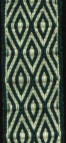 Lovely tablet weaving. (Patterns are on this site as a word .doc.) Repinned by Elizabeth VanBuskirk. Many tablet weaving designs are available on this page.