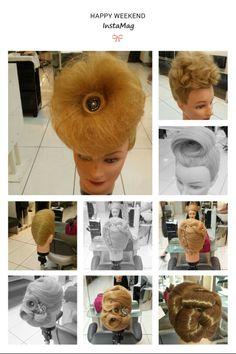 #Hair #Upstyles Hair Upstyles, Hair Inspiration, Winter Hats, Fashion, Moda, Fashion Styles, Fashion Illustrations