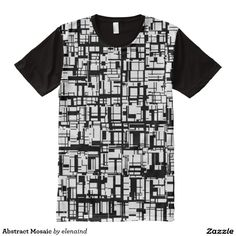 Abstract Mosaic All-Over Print T-shirt #Zazzle