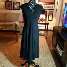 Black cap sleeve dress. Super easy dress to own.  Ends up being a dress to turn to when u don't know what to wear.   Actually,  have 2 so cleaning out.   Make an offer! Chaps, Ralph Lauren  Dresses