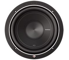 """P1S2-10 10"""" Punch P1 2-Ohm SVC Subwoofer.  Rockford Fosgate P1 10"""" is the first in a family of famous """"Punch"""" subwoofers. The P1S2-10 features a 2-Ohm voice coil, 250 Watts RMS power handling, and can accommodate a grille insert using the included soft touch ABS trim ring."""