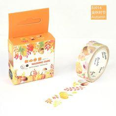 1PC Wonderful Original Dream Colorful Washi Tape Collection - Autumn