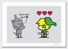 Link and the Tin-Man