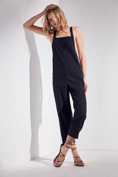 Slide View: 1: BDG Cropped Jumpsuit