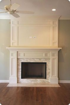 Thousand Square Feet: The Makings of a Traditional Fireplace ...