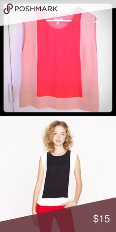 J. Crew Pink Colorblock Top Perfect condition. This is for the pink/blush version. Fits true to size. 15% off 2+ bundles. J. Crew Tops Blouses