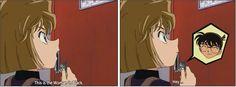 How she loves to tease Conan =)  #DetectiveConan