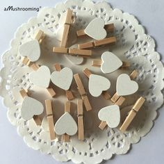 50 Pcs White Heart Wooden Clothespin Home or Wedding Decoration Heart Clothespin/Scrapbook Heart Pegs/Mini Heart Pegs Wedding Bridal Shower Wooden Clothespins, Wooden Pegs, Wedding Sets, Diy Wedding, Wedding Things, Wedding Decorations, Christmas Decorations, Kitchen Shower, Clothes Pegs