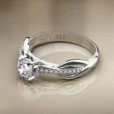 Anel de Noivado Infini I - Anéis de Noivado - Poésie, Joalheria Virtual, o estado da arte em joias.