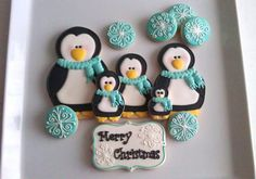 Cookie Penguin Family