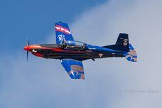 Leeuwarden EHLW LMD2016 : Austrian AF PC-7 3H-FC