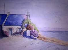 acquerello - casa sul mare