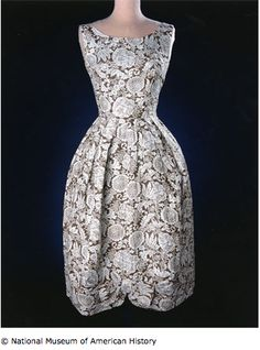 Feedsack Dress from National Museum of American History
