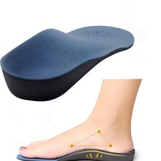 NEW Shoes Arch Support Cushion Feet Care Insert Orthopedic Insole for Flat Foot Health Sole Pad *35