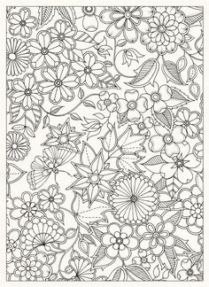 Flower Coloring Pages For Adults Printable - Free Coloring Sheets Coloring Pages For Grown Ups, Flower Coloring Pages, Coloring Book Pages, Printable Coloring Pages, Coloring Sheets, Colouring Pages For Adults, Doodle Coloring, Mandala Coloring, Free Coloring