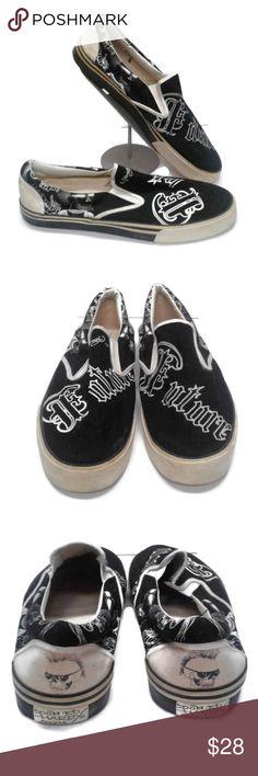Vans Slip On Custom Skeleton Feet | THE CUSTOM MOVEMENT