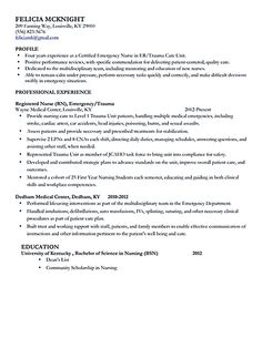 Telemetry nurse resume