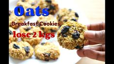 Oat Cookies - Lose 2 kgs In 1 Week - Oats Recipes For Weight Loss - Bana...