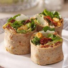 Caesar Salad Pinwheels Allrecipes.com