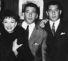 Judy Garland and the The Kray Twins. #Krays #Kray_Twins #Crime