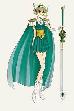 Sword reference: CLAMP, Magic Knight Rayearth, Fuu