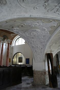 Old synagogue in Mikulov
