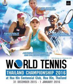 World Tennis Thailand Championship 2016 in Hua Hin am 31. Dezember und 1. Januar