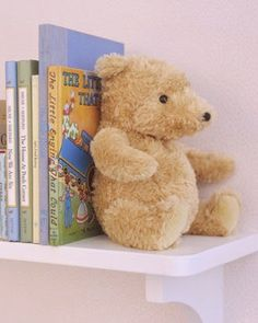 STUFFED ANIMAL WITH ROCKS Craft of the Week: 15 DIY Bookends - Home Made Modern