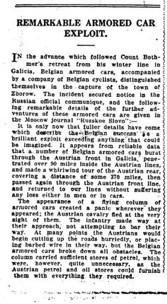 WWI, The World's News, 16 Dec 1916. Eastern Front.