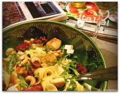 Makkelijk recept voor pastasalade met kip