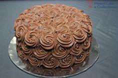 Choclate cake with unique design