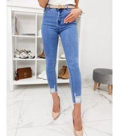 Modré dámske džínsy Skinny Fit Better Skinny Fit, Skinny Jeans, Mom Jeans, Fitness, Pants, Fashion, Trouser Pants, Moda, Skinny