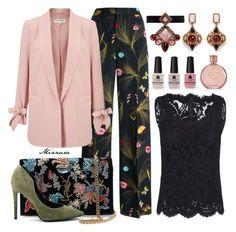 """Untitled #100"" by mizzura on Polyvore featuring Fendi, Erickson Beamon, Miss Selfridge, Yves Saint Laurent, Dolce&Gabbana, Kendall + Kylie, Estée Lauder and Victoria's Secret"