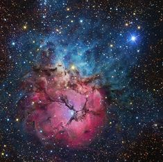 Image Credit & Copyright: R. Jay GaBany, Cosmotography   The Trifid Nebula (designated Messier 20 and NGC 6514) is a star-forming (H II) region of some 40 light-years across, located about 5,200 light-years away from Earth in the constellation of Sagittarius (the Archer). It is estimated to be only 300,000 years old.  Stars, the Sun included, were born...  Continue reading on: http://annesastronomynews.com/annes-image-of-the-day-the-trifid-nebula/